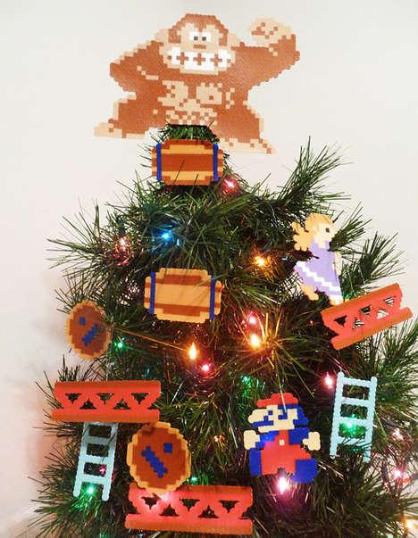 Retro Arcade Xmas Tree-Toppers
