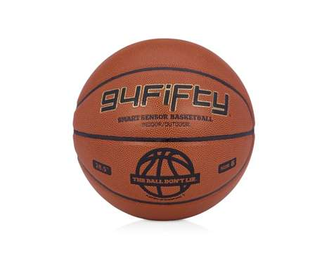 Hi-Tech Sports Balls - The 94Fifty Smart Sensor Basketball Tracks Muscle Activity