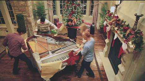 Eccentric Piano Christmas Carols