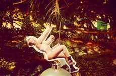 DIY Celeb Spoof Ornaments - Recreate Miley's Wrecking Ball with This Celebrity Christmas Decoration