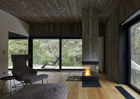 Cozy Timber-Clad Residences