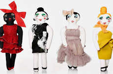 Cartoon-Inspired Charity Dolls - The Lanvin Christmas Doll Collection is for a Good Cause