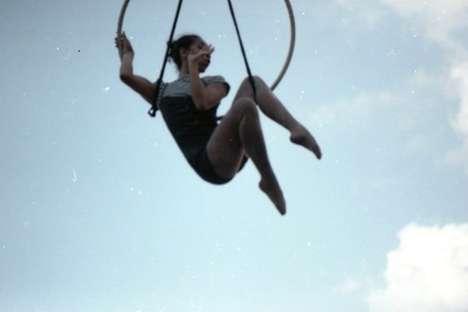 Sky-Residing Acrobat Photography