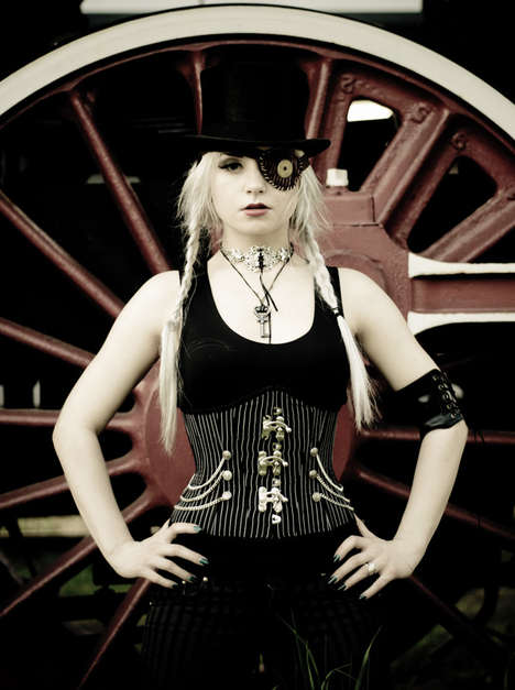 Gothic Train-Hopping Photography