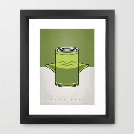 Galactic Soup Can Posters