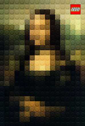 Famous LEGO Portrait Recreations - These LEGO Masterpieces Honor the Great Painters