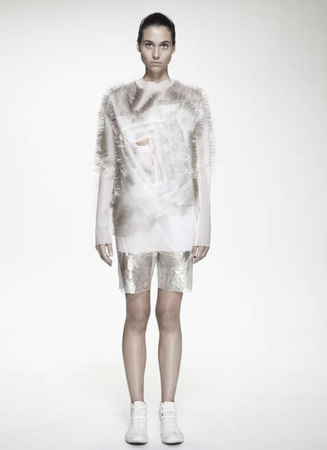 Artful Voice-Activated Garments