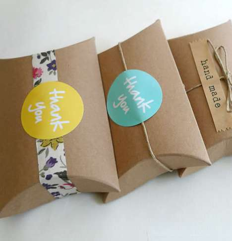 Eco Paper Gift Boxes - These Reusable Kraft Paper Gift Boxes are Ideal for DIY Gift Wrapping