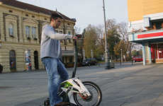 Bike-Like Segways - The S3TR Scooter is a Fun and Foldable Commuter Conveyance