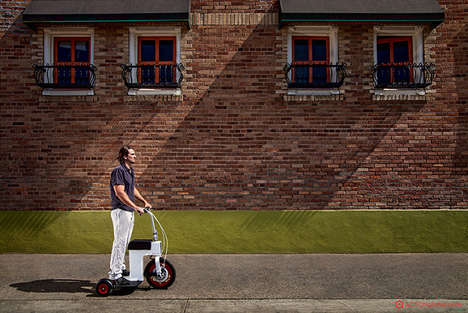 Retractable Electric Scooters