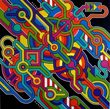 Therapeutic Abstract Graffiti