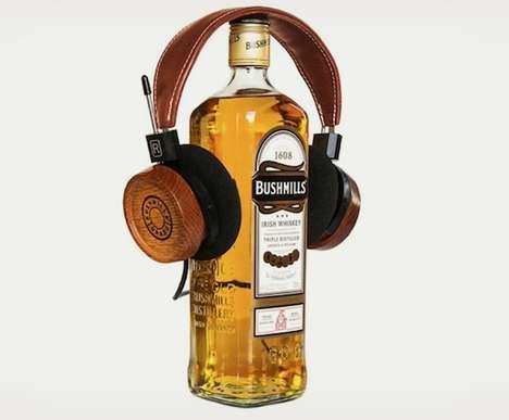 Alcoholic Headphone Designs