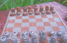 Medieval Game Board Remixes - The Chainmaille Chess Set Lets You Play Like It's 1399