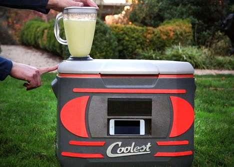 Clever Multi-Tasking Coolers - The 'Coolest Cooler' is an Impressive Kickstarter Funded