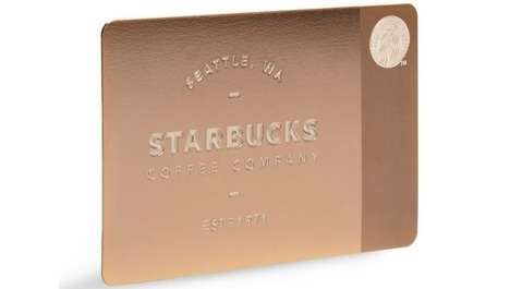 Customer Loyalty Coffee Cards - The Starbucks $450 Gift Card is for True Java Lovers
