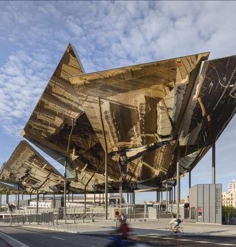 Gilded Leaved Pavilions