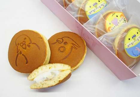 Bird-Flavored Ice Cream Sandwiches