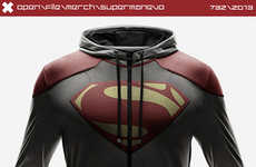 Heroic Workout Attire - This SuperHero Merchandise Makes the Perfect Gift for Fans