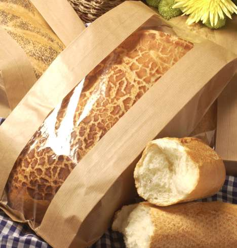 Biodegradable Bread Bags - NatureFlex's Biodegradable Bag, Wrapper and Films Keep Bread Fresh