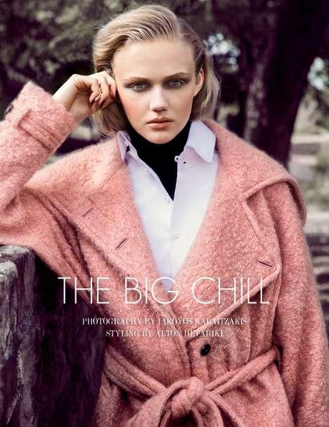 Luxe Overcoat Editorials