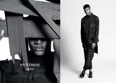 Minimalist Menswear Editorials