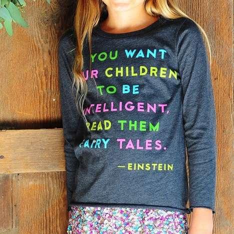 Encouraging Storytelling Sweaters