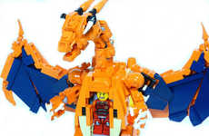 Building Block Mecha Monsters