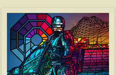 Stained Glass Film Posters