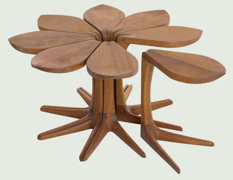 Flowering Side Tables