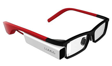 Wearable Tech Glasses - The Lumus DK-40 Will be Google Glasses' Biggest Competitor in 2014