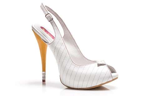 Nerdy Notebook Pumps - The Kobi Levi Write Heels are Perfect for Someone Who Loves to Write