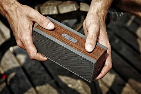 Wooden Speaker Blocks