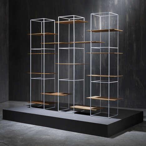 Modular Transitioning Shelves