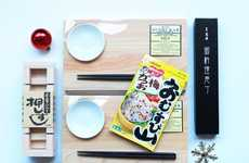 Personalized Sushi Lover Sets - The Sushi Gift Set by Bento & Co. is a Fabulous Stocking Stuffer