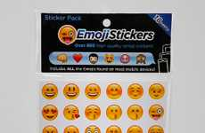 Smartphone Emoji Stickers - Write Your Texts on Paper with the Emoji Sticker Sheet