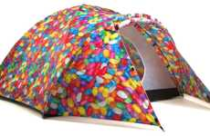 Stylish Solar-Powered Tents - These Solar Powered Tents from 'Bang Bang Tents' are Eye-Catching