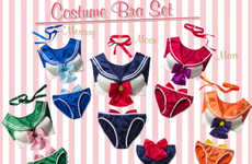 Anime-Inspired Lingerie - This Sailor Moon Lingerie is Oddly Accurate