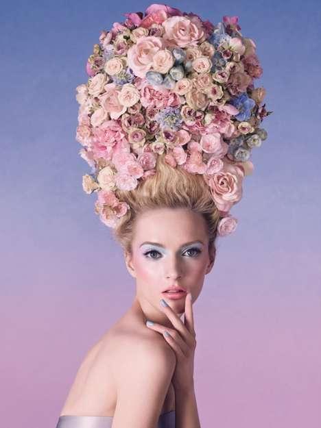 Versailles-Inspired Cosmetic Branding