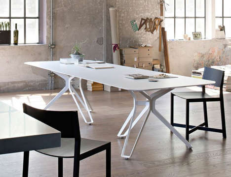 Tripod-Inspired Furniture