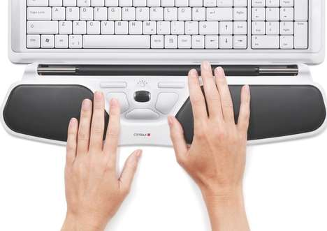 Ergonomic Computing Track Pads