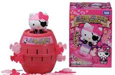 Retro Kitty Pirate Games - The Hello Kitty Pop Up Pirate Toy is Barrels of Fun