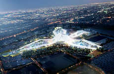 Visionary World Expo Sites - The 2020 Dubai World Expo Infuses Tradition with Futuristic Designs