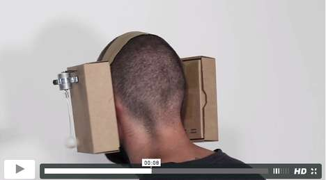 Carton-Inspired Headphones