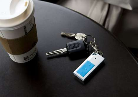 The KeyPal Pro is a Device That Monitors Objects Using an App