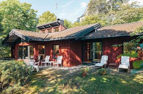 This Cozy Swedish Villa Was Designed by Haubro-Nielsen