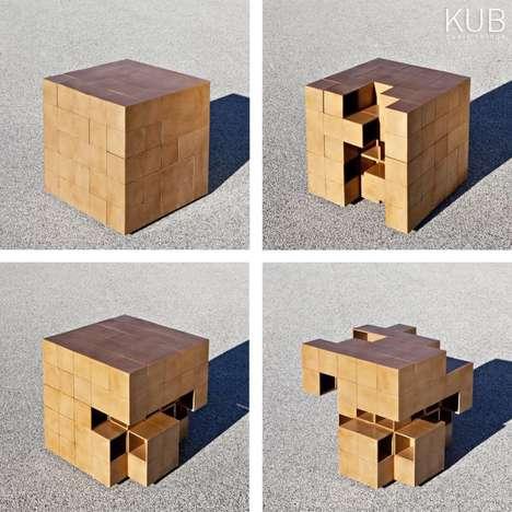 Rubik's Cube-Like Furniture