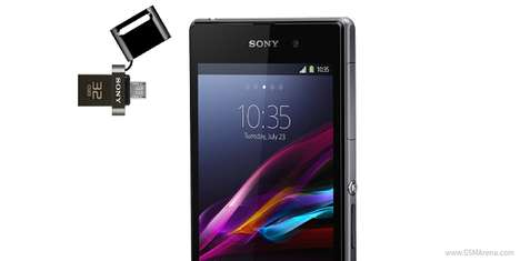 Smartphone-Enabled USB Drives - The New Sony Micro USB Drive Works with Tablets and Smartphones