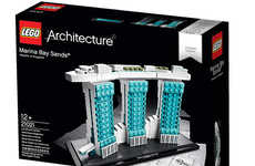 Famous Architecture Toy Kits - You Can Now Recreate Singapore's Marina Bay Sands with LEGO