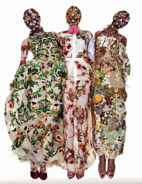 Overpowering Floral Editorials