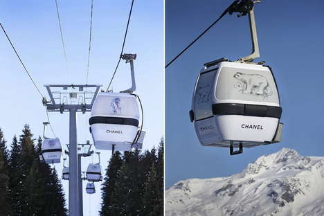 Couture Cable Cars - The Chanel Cable Car Takes Style to New Heights